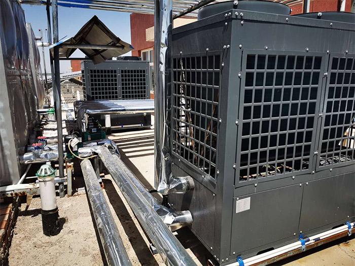 空气源热泵取暖原理