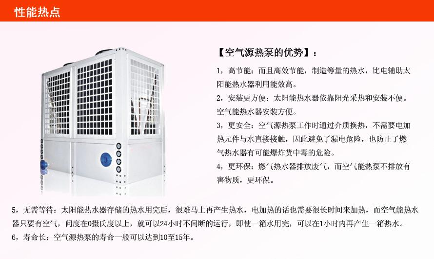 空气源热泵两联供与传统中央空调相比的有何优势?