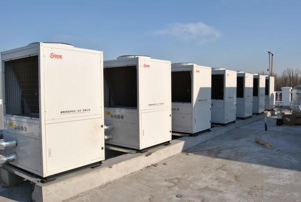 瑞杰新能源为您介绍关于宁夏空气源低温热水机组工作原理及应用介绍