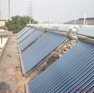 宁夏太阳能工程厂家邀您了解太阳能工程型太阳能热水器系统按运行方式