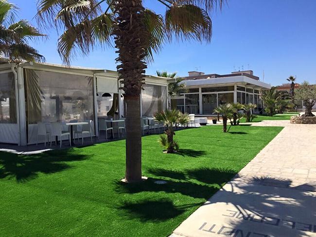 高级场所使用人造草坪的几大优点