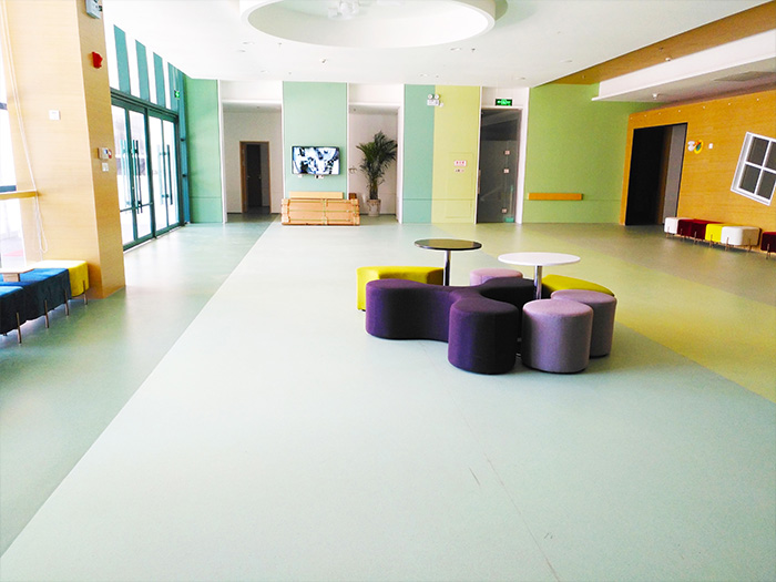 陕西PVC塑胶地板施工