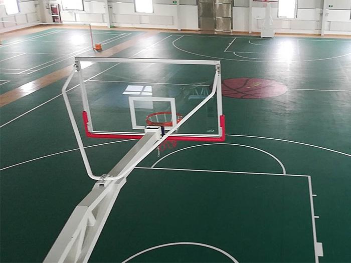 宁夏运动地板施工