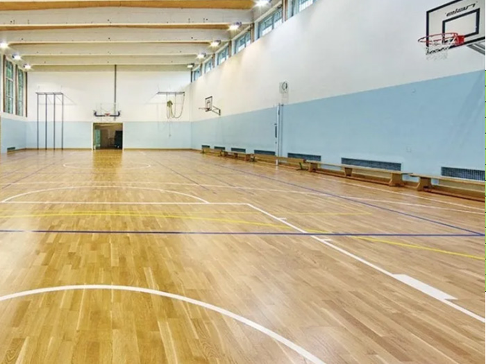 运动木地板的安装