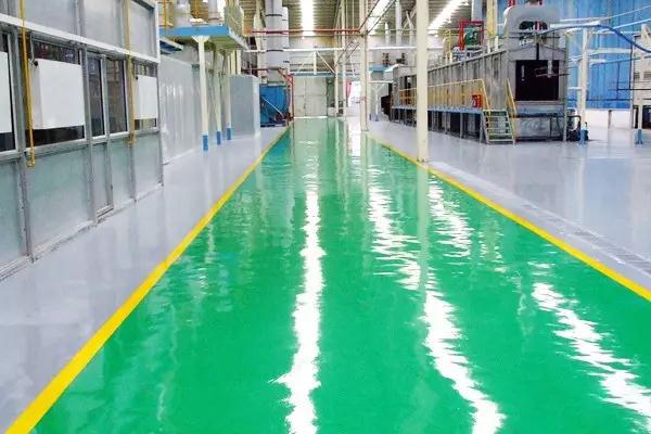 环氧地板涂料表面刷痕怎么快有效的速解决?
