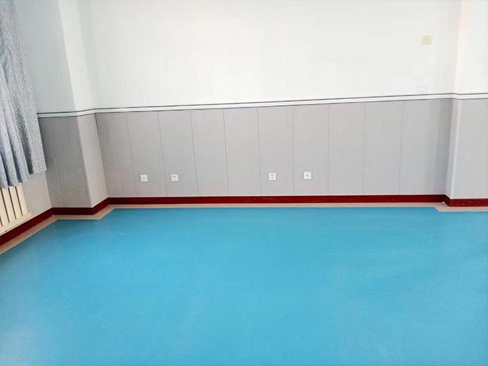 平罗中医院塑胶地板