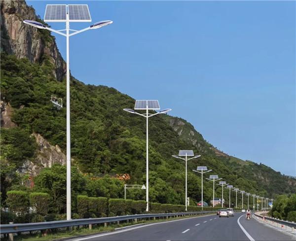 河南太阳能路灯案例