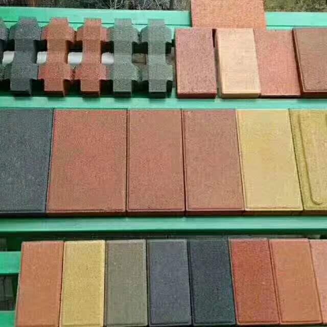 郑州透水砖施工合作案例