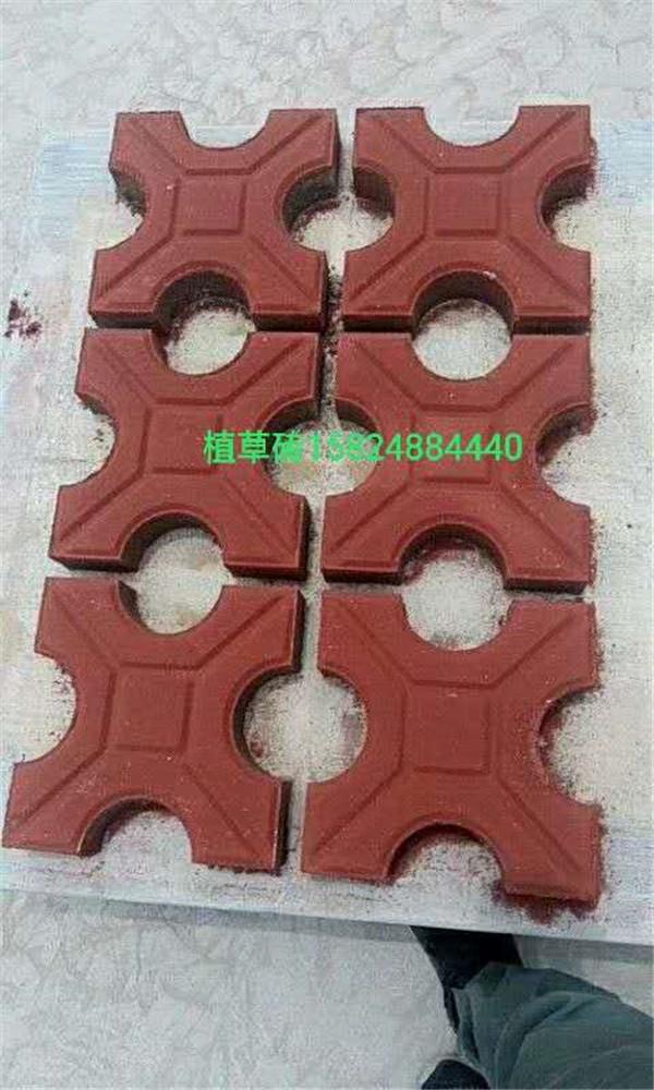 郑州植草砖工程