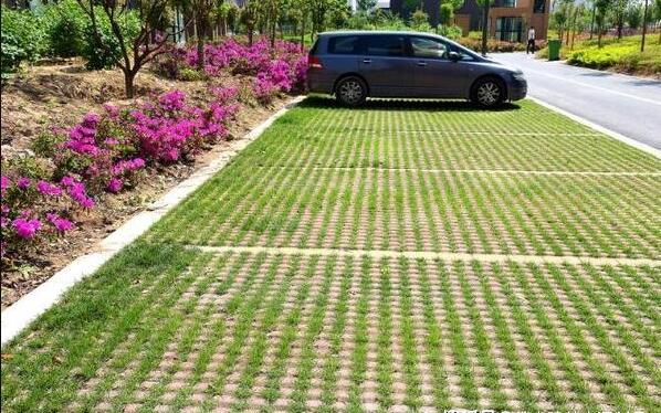 露天停车场的法宝—植草砖