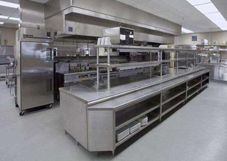 为兰州银馨春天餐饮提供成套商用厨房设备
