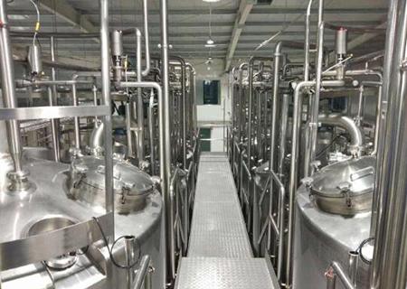 整套乳品生产线