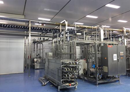 为那曲县嘎尔德畜牧业提供乳制品成套乳品生产线及净化工程