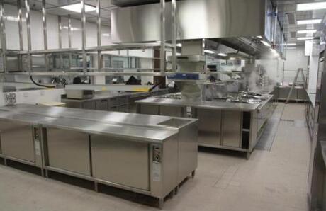 商用厨房设备安装要求