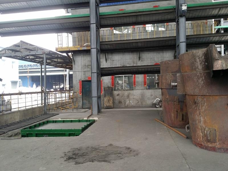 太沙工业园区客户定制钢包秤