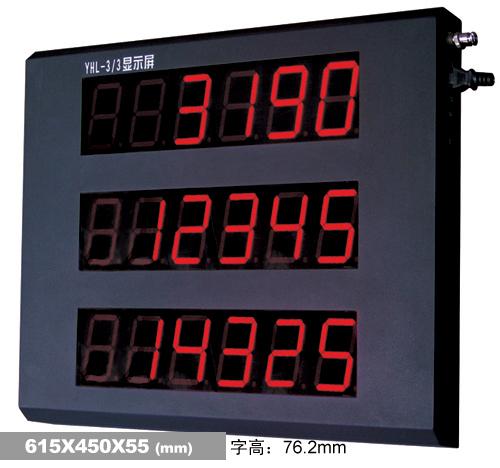 宁夏地磅配件_XK3190-YHL3寸三窗口型大屏幕