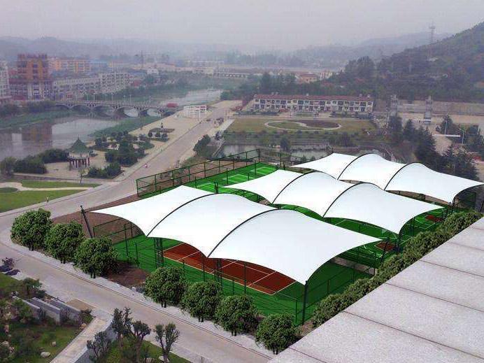 四川膜结构网球场