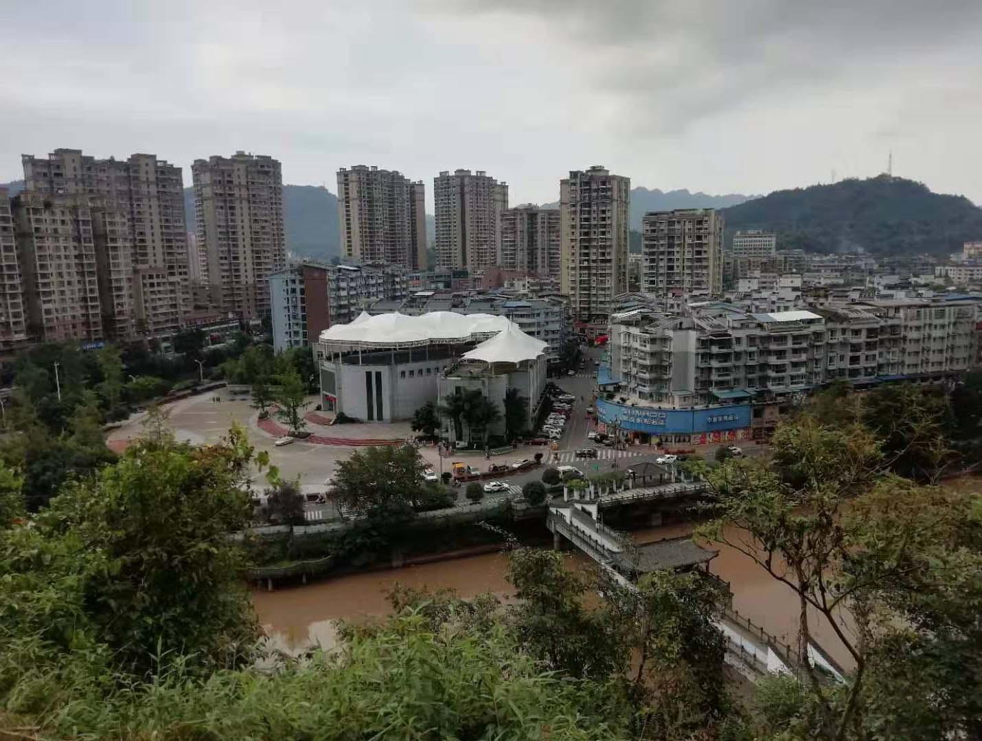 乐山沐川县政务中心膜结构