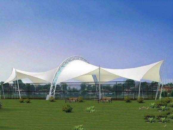 四川膜结构网球场施工