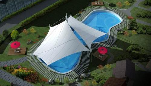 四川膜结构游泳池