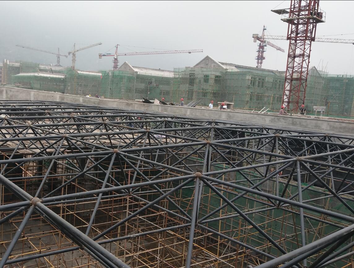 泸州合江天立学校体育中心网架工程