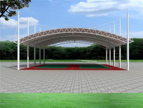 四川膜结构网球场的特点介绍