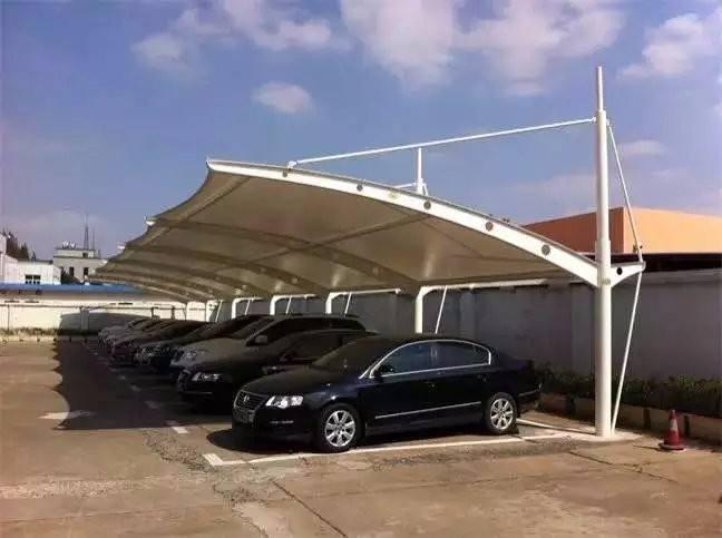 四川停车棚膜结构