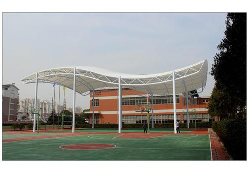 四川网球场膜结构应用非常的广泛