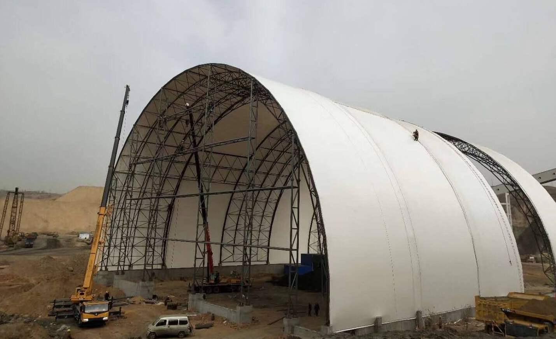 云南煤棚膜结构
