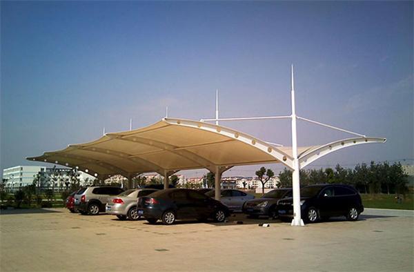 四川膜结构停车棚看台带来的便利性