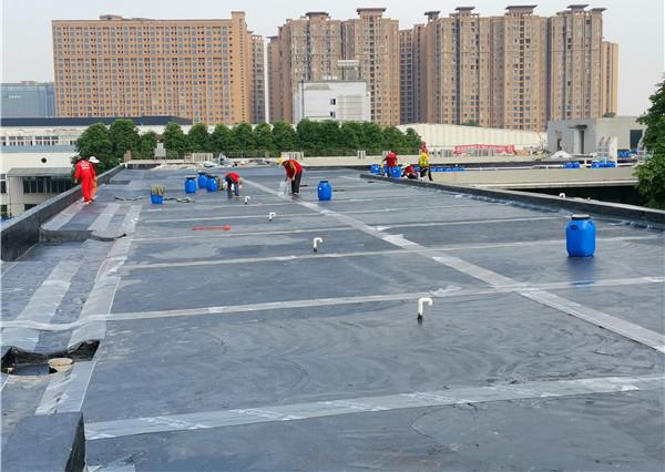 成都屋面复合防水成功案例