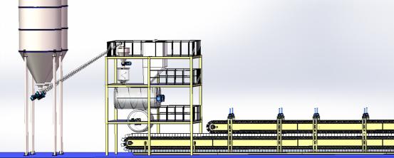 EPS热固复合聚苯板固化炉成形全自动流水生产线系列
