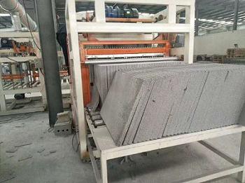 EPS热固聚苯保温板全自动上料