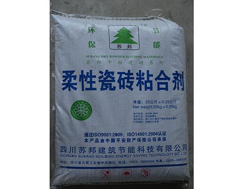 四川柔性瓷砖粘合剂