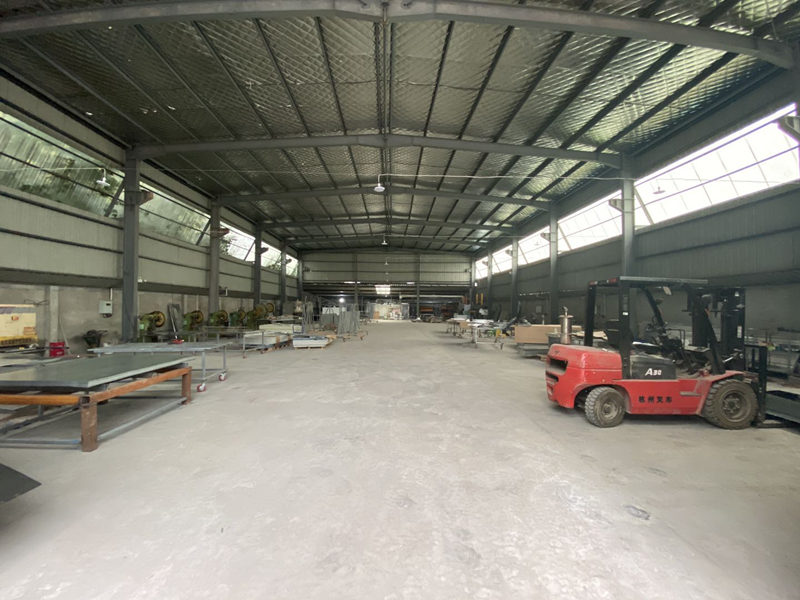卫生间隔断生产厂房