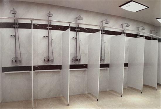 公共卫生间隔断板什么材质好?