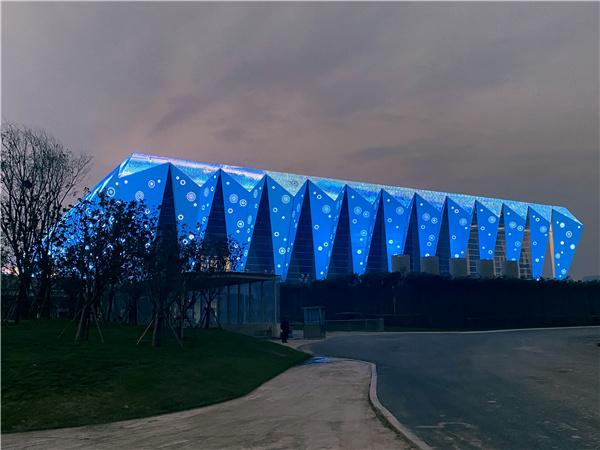 天地式西安全运会体育场馆奥体中心