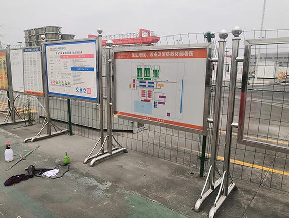 四川标识标牌安装成功案例