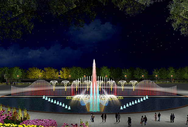 四川音乐喷泉