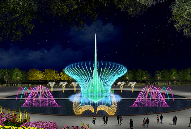 成都激光音乐喷泉