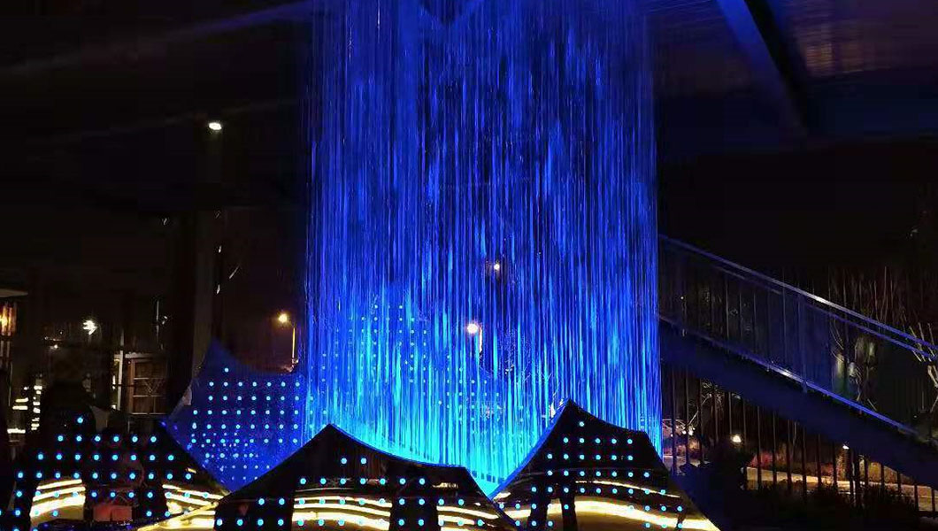 成都展馆水帘系统
