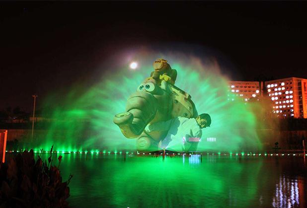 四川水幕喷泉