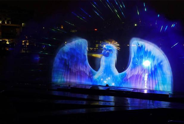 内江激光水幕喷泉