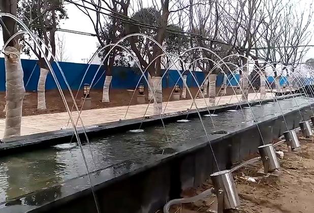 内江波光跳泉工程