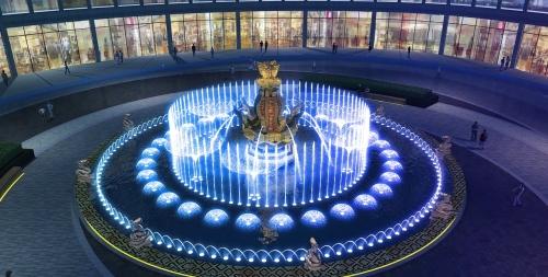 四川喷泉设计需要考虑哪些要点?看过来