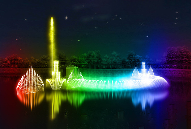 如何选择四川河道喷泉安装位置和高度?德源喷泉告诉你