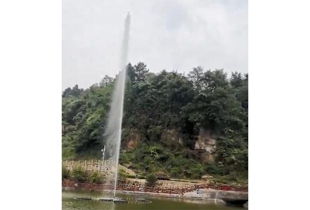四川声控喷泉