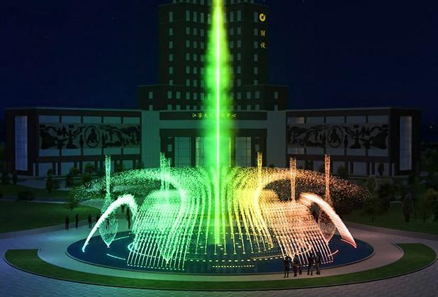 如何用声音来控制四川音乐喷泉呢?