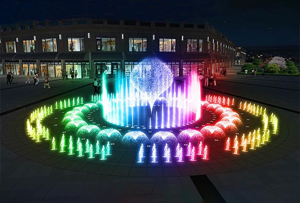 美轮美奂的四川喷泉,在设计时这几种分类你都知道吗?