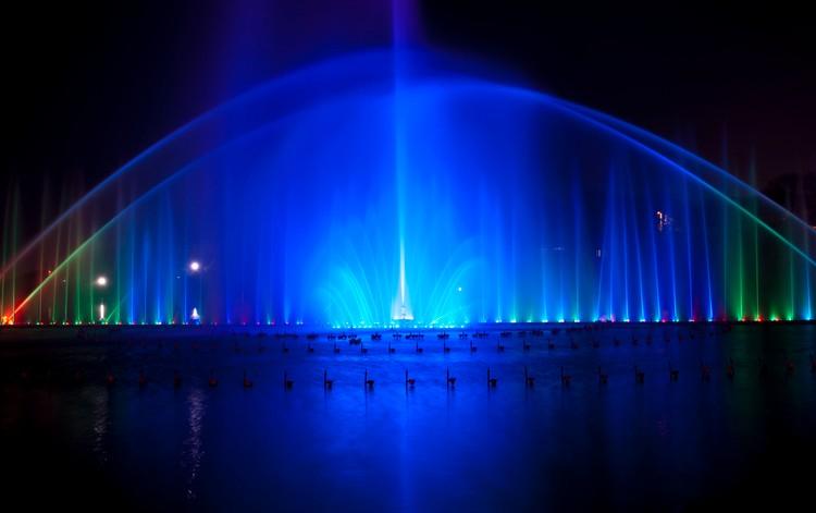 四川水景音乐喷泉安装